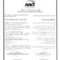 گواهینامه تایید صلاحیت آزمایشگاه –مرکز ملی تایید صلاحیت ایران ISIRI-ISO/IEC 17025